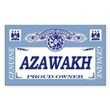 AZAWAKH Rectangle Decal