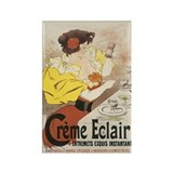Creme Eclair Vintage Advertis Rectangle Magnet (10