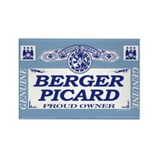 BERGER PICARD Rectangle Magnet (10 pack)
