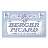BERGER PICARD Rectangle Decal