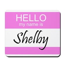 Shelby Mousepad