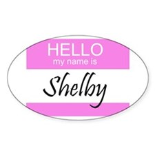 Shelby Oval Decal
