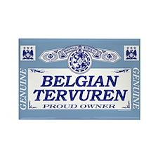 BELGIAN TERVUREN Rectangle Magnet (10 pack)