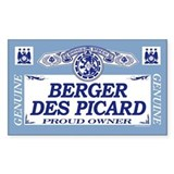 BERGER DES PICARD Rectangle Decal