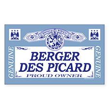 BERGER DES PICARD Rectangle Decal