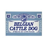BELGIAN CATTLE DOG Rectangle Magnet