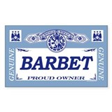 BARBET Rectangle Decal