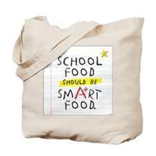 School Food Smart Food Tote Bag