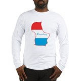 Cool Luxembourg Long Sleeve T-Shirt