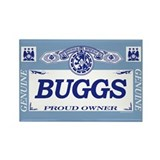 BUGGS Rectangle Magnet (100 pack)