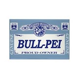 BULL-PEI Rectangle Magnet (100 pack)