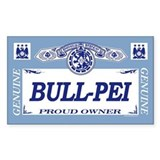 BULL-PEI Rectangle Decal