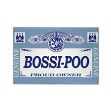 BOSSI-POO Rectangle Magnet (100 pack)