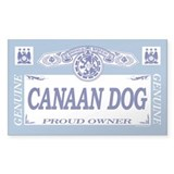 CANAAN DOG Rectangle Bumper Stickers