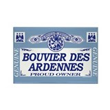 BOUVIER DES ARDENNES Rectangle Magnet (100 pack)