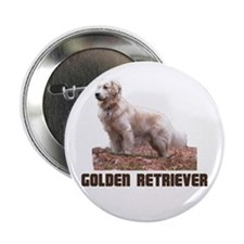 "Golden Retriever 2.25"" Button (100 pack)"