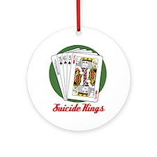 Alternate color Suicide King Ornament