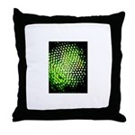 Firefly eye Throw Pillow