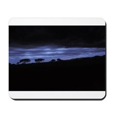 DEEP BLUE SUNSET IN THE MARA Mousepad