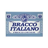 BRACCO ITALIANO Rectangle Magnet (10 pack)