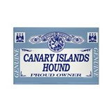 CANARY ISLANDS HOUND Rectangle Magnet