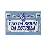 CAO DA SERRA DA ESTRELA Rectangle Magnet