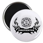 Fire Dept Firefighter Tattoos Magnet