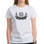 Fire Dept Firefighter Tattoos Women's T-Shirt