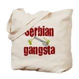 Serbian Gangster Tote Bag