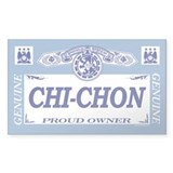 CHI-CHON Rectangle Decal