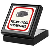 You Are Under Surveillance Keepsake Box