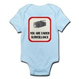 You Are Under Surveillance Infant Bodysuit