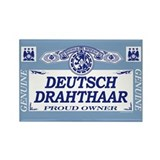 DEUTSCH DRAHTHAAR Rectangle Magnet