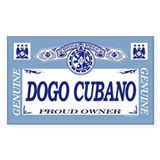 DOGO CUBANO Rectangle Decal