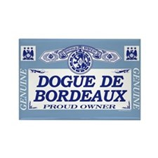 DOGUE DE BORDEAUX Rectangle Magnet (100 pack)