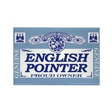 ENGLISH POINTER Rectangle Magnet (100 pack)