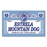 ESTRELA MOUNTAIN DOG Rectangle Decal