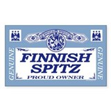 FINNISH SPITZ Rectangle Decal