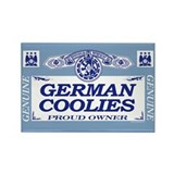 GERMAN COOLIES Rectangle Magnet (10 pack)
