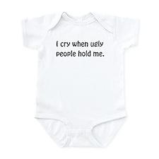 Unique Ugly people Infant Bodysuit
