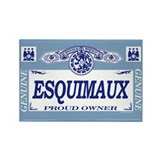 ESQUIMAUX Rectangle Magnet (100 pack)
