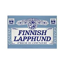 FINNISH LAPPHUND Rectangle Magnet