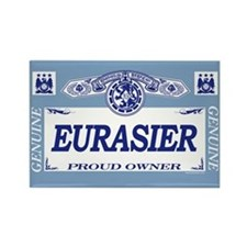 EURASIER Rectangle Magnet