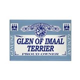 GLEN OF IMAAL TERRIER Rectangle Magnet