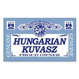 HUNGARIAN KUVASZ Rectangle Decal