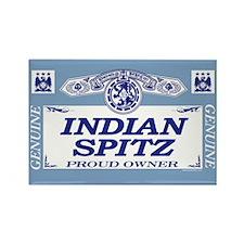 INDIAN SPITZ Rectangle Magnet (100 pack)