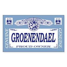 GROENENDAEL Rectangle Decal