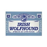 IRISH WOLFHOUND Rectangle Magnet (100 pack)