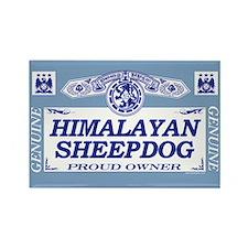 HIMALAYAN SHEEPDOG Rectangle Magnet