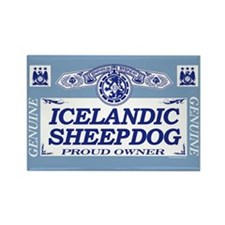 ICELANDIC SHEEPDOG Rectangle Magnet (10 pack)